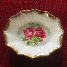 Bell Fine Bone China England Roses Dish