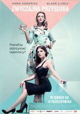 Anna Kendrick Blake Lively Paul Feig - A Simple Favor - Polish promo FLYER