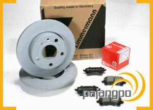 VW Arteon [3H7] - Zimmermann Bremsscheiben Bremsbeläge für hinten Hinterachse