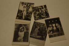 Lot of 5 RPPC Art Religious Paintings by the Masters in Museums Rome all Id'd #