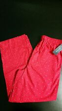 LONG SLEEPWEAR THOMMY HILFIGER MEN'S PAJAMA,Red, size M (32-34)