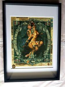 Rare Original Handiedan MP Master Proof Museum Framed Amo.3