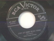 "SAUTER-FINEGAN ""STOP SIT DOWN RELAX THINK / RAIN"" 45"