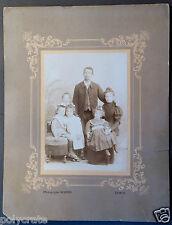 Photo Ancienne Portrait Famille Homme Femme Enfants Epinal - an. 1900