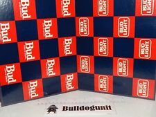 Vintage Budweiser vs. Bud Light Checkers Game Replacement Game Board Only