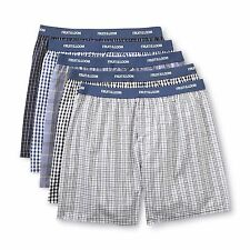 NEW Fruit of the Loom Men's Boxers (5 Pack), Color: Assorted Blues, Size:  XXL