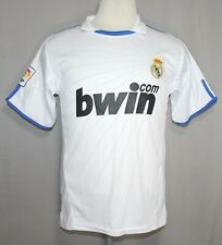 Real Madrid White Soccer Shirt Men's Size Small