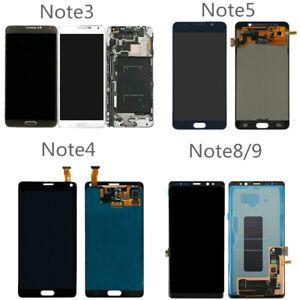 For Samsung Note 8 9 5 4 3 N920 N910 N950 N9600 LCD Touch Screen Digitizer Lot