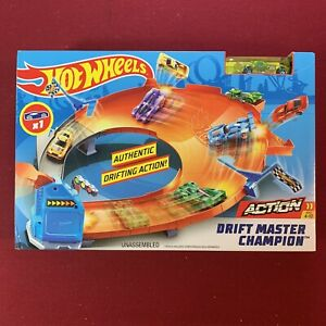 Hot Wheels Drift Master Champion Trackset -  New | 2018 | Comes with Race Car