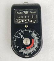 Vintage Weston Master Universal Exposure Meter Photography Light Meter