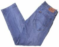 LEE Womens Jeans W31 L26 Blue Cotton Straight Powell  EO04