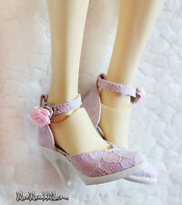 1/3 bjd SD16 Smart girl doll lace high-heel shoes dollfie dream S-101 ship US
