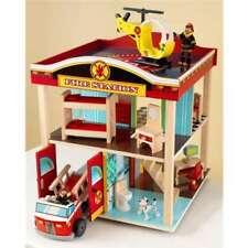 KidKraft Fire Station Kids Play Set - 63236 (Open Box)