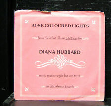 "Diana Hubbard - Rose Coloured Lights 7"" Mint- 1979 Waterhouse Records 15003 USA"