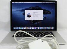 """Mid 2014 Apple MacBook Pro A1398 Retina 15.4""""  i7 2.2Ghz  16GB RAM 256GB SSD"""