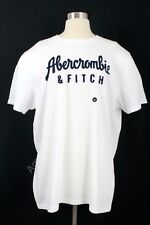 NWT ABERCROMBIE & FITCH MEN'S GRAPHIC TEE T SHIRT S WHITE