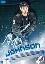 2019 BLADES ICE SIGNATURE TYLER JOHNSON 150cc Topps NHL Skate Digital Card