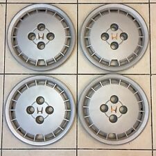 1985 HONDA ACCORD OEM HUB CAPS WHEEL COVERS // 4x100 CRX CIVIC