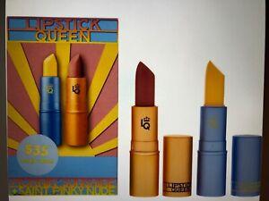 Lipstick Queen Smokey Lips Duo: Morning Sunshine and Saint Pinky Nude- BNIB
