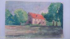Peinture signée J.Beunot 1938. Painting signed J.Beunot 1938
