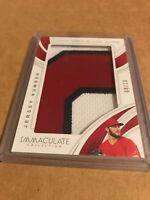 2019 Immaculate Daniel Ponce De Leon Jersey Number PRIME Jumbo Relic! #'d 09/10!