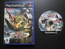 JEU Sony PLAYSTATION 2 PS2 : DEADLY SKIES III (Konami, sans notice, envoi suivi)