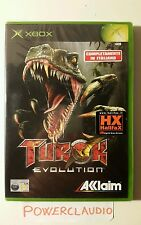TUROK EVOLUTION xbox SEALED new NUOVO pal ITALIANO prima stampa xbox360 360