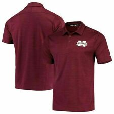 Mississippi State Bulldogs adidas Sideline Coaches Game Mode Polo Golf Shirt 4XL