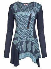 Joe Browns BLUE Mystical Mix & Match Blouse Tunic - Plus Size 12 to 32 (Style 1)
