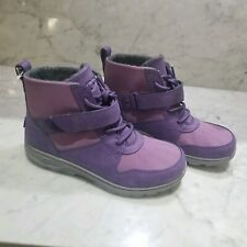UGG Waterproof purple Lace-up Shoes Boots youth  Size 5 Womens