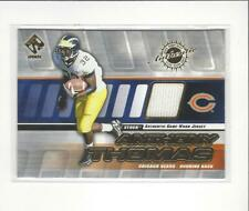 2001 Private Stock Game Worn Gear #28 Anthony Thomas JERSEY Bears Michigan