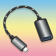 Micro USB OTG Male to Type-A Female Adapter Cable f Samsung Galaxy S2 S II i9100
