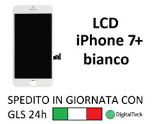TOUCH SCREEN + LCD DISPLAY + FRAME PER APPLE IPHONE 7 PLUS BIANCO