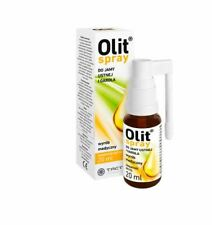 OLIT spray do jamy ustnej i gardła 20ml ból drapanie chrypka  gardło /  throat