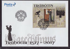 Faroe Islands 2017 Fdc - Reformation 500th Anniversary - with m/sheet
