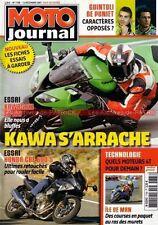 MOTO JOURNAL 1788 Essai KAWASAKI ZX-10R HONDA CBF 600 F Randy MAMOLA YAMAHA M1