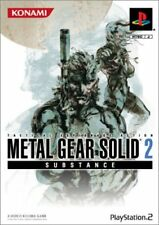 Used PS2 Metal Gear SoliD 2 SUBSTANCE KONAMI SONY PLAYSTATION 2 JAPAN IMPORT