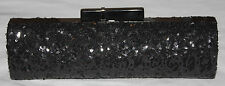 Bebe CAMILLA Black Sequin Embellished Clutch Purse (Offered by Cozee Clothing)**