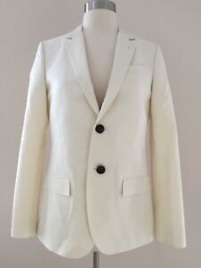 NEW J.CREW Collection women's Ludlow jacket in Italian wool-mohair 08805 Ivory 6