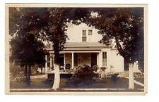 IN - RICHMOND INDIANA 1908 RPPC Postcard WARD HOUSE