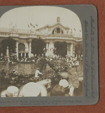 """"""" LOUISIANA PURCHASE EXPOSITION,ST. LOUIS, U.S.A.  """"  ORIGINAL 1904  STEREOVIEW"""