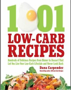 1001 Low-Carb Recipes, healthy anh lose weight