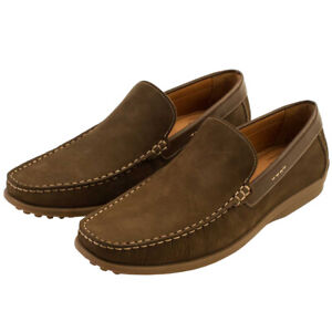 Oxford Golf Men's Dover Slip-On Casual Leather Loafer NEW