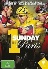 1 Sunday In Paris - 2011 Tour De France Cadel Evans (DVD, 2012) New  Region 0
