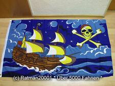 Fahnen Flagge Piratenschiff - 90 x 150 cm