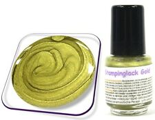 5ml Stamping Lack für KONAD Nail, Stempellack, Farbe: Gold