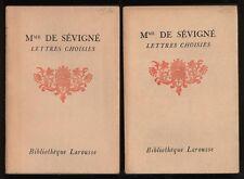 █ LETTRES CHOISIES DE MADAME DE SEVIGNE 2 to Larousse █