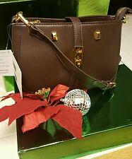 Adrienne Vittadini  Brown Handbag Purse