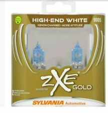 Sylvania SilverStar 9005 ZXE GOLD Xenon Fueled 2 Pack New/Sealed Free Shipping
