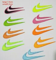 Nike Sports Just do it clothes t shirts Embroidered Iron Sew on Patch logo set
